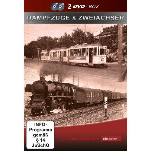 Dampfzüge - Dampfzüge & Zweiachser [2 DVDs] - Preis vom 22.06.2021 04:48:15 h