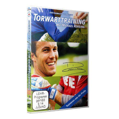 Nepomuk V. Fischer - Torwarttraining mit Michael Rensing / Neue Fußballübungen im Fußballtraining (DVD) - Preis vom 25.10.2021 04:56:05 h