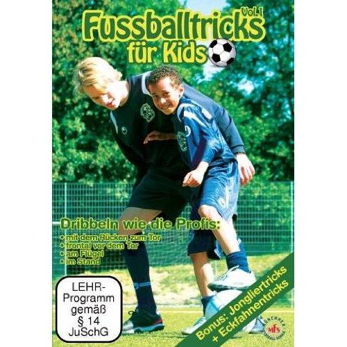 Nepomuk Fischer - Fussballtricks für Kids Vol. 1 / Neue Fußballübungen im Fußballtraining (DVD) - Preis vom 25.10.2021 04:56:05 h