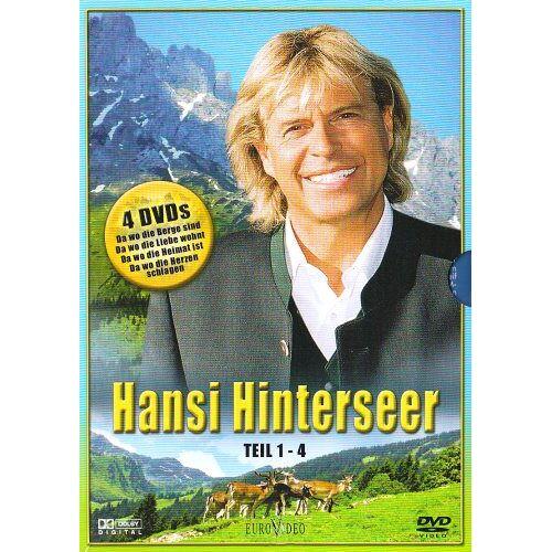 Hansi Hinterseer - Hansi Hinterseer Box, Teil 1-4 (4 DVDs) - Preis vom 17.06.2021 04:48:08 h