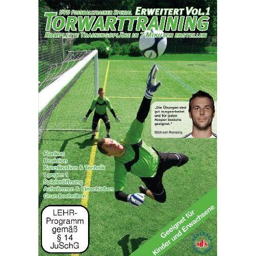 Nepomuk V. Fischer - DVDFussballtrainer Spezial: Torwarttraining - Erweitert Vol. 1 / Neue Fußballübungen im Fußballtraining (DVD) - Preis vom 25.10.2021 04:56:05 h