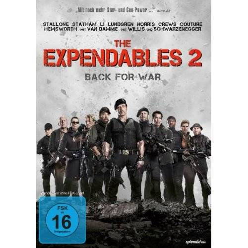 Simon West - The Expendables 2 - Back for War - Preis vom 12.06.2021 04:48:00 h