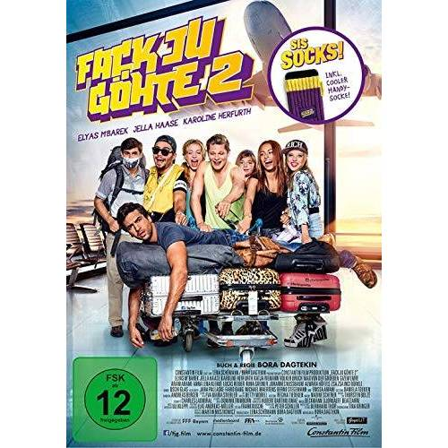 Bora Dagtekin - Fack Ju Göhte 2 - Kinofilm inkl. Handysocke - limitierte Auflage (DVD) - Preis vom 22.06.2021 04:48:15 h
