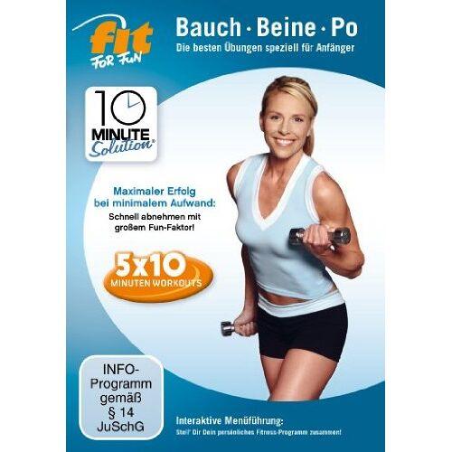 Cindy Whitmarsch - Fit for Fun - 10 Minute Solution: Bauch, Beine, Po für Anfänger - Preis vom 21.06.2021 04:48:19 h