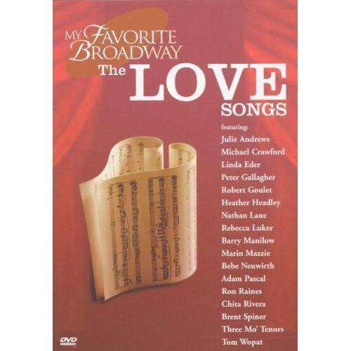 Original Broadway Cast - My Favorite Broadway - The Love Songs - Preis vom 10.10.2021 04:54:13 h