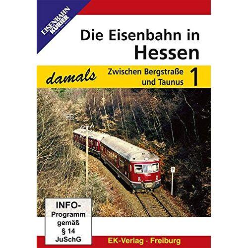 - Die Eisenbahn in Hessen 1 - Zwischen Bergstraße und Taunus - Preis vom 25.07.2021 04:48:18 h