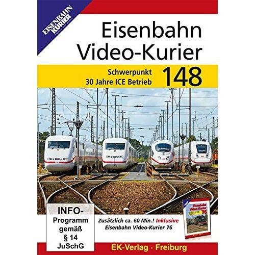 - Eisenbahn Video-Kurier 148 - Schwerpunkt 30 Jahre ICE-Betrieb - Preis vom 19.06.2021 04:48:54 h