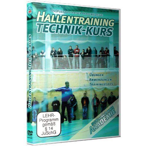 Nepomuk V. Fischer - DVDFussballtrainer Akademie: Hallentraining Technik-Kurs / Neue Fußballübungen im Fußballtraining (DVD) - Preis vom 25.10.2021 04:56:05 h
