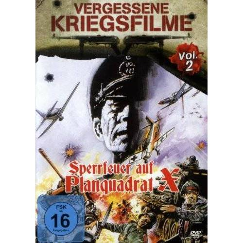 Midhat Mutapcic - Sperrfeuer auf Planquadrat X - Vergessene Kriegsfilme Vol. 2 - Preis vom 13.06.2021 04:45:58 h