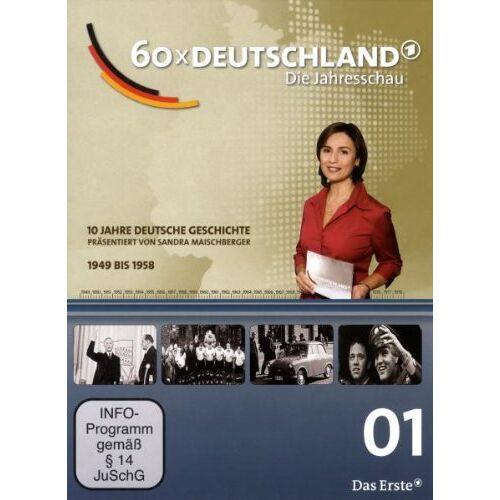 Sandra Maischberger - 60 x Deutschland - Teil 1 (1949-58) - Preis vom 17.06.2021 04:48:08 h
