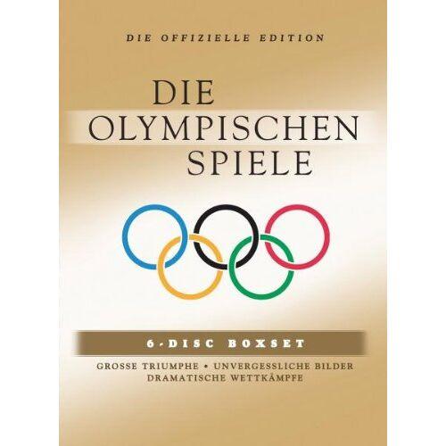 - Die Olympischen Spiele, Vol. 1-6 [6 DVDs] - Preis vom 11.06.2021 04:46:58 h