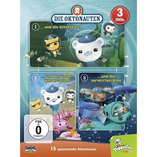 - Die Oktonauten - 3er-Box [3 DVDs] - Preis vom 18.06.2021 04:47:54 h