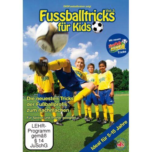 Nepomuk Fischer - Fussballtricks für Kids Vol. 3 / Neue Fußballübungen im Fußballtraining (DVD) - Preis vom 25.10.2021 04:56:05 h