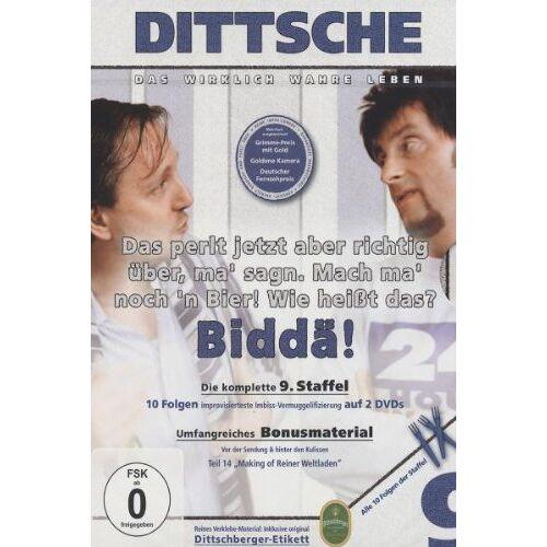 Olli Dittrich - Dittsche: Das wirklich wahre Leben - Die komplette 9. Staffel [2 DVDs] - Preis vom 17.06.2021 04:48:08 h