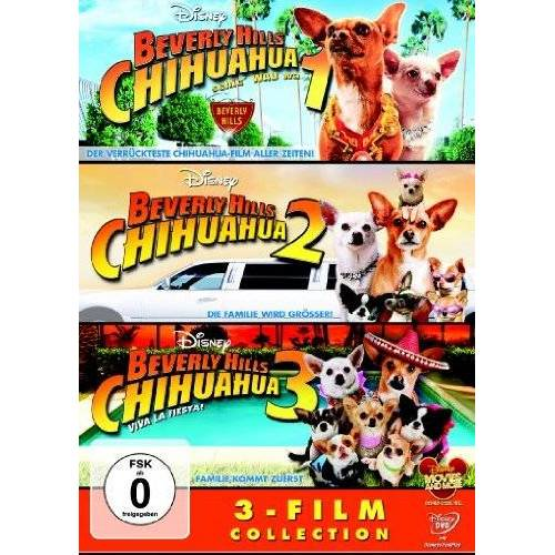 Raja Gosnell - Beverly Hills Chihuahua / Beverly Hills Chihuahua 2 / Beverly Hills Chihuahua 3 [3 DVDs] - Preis vom 02.08.2021 04:48:42 h