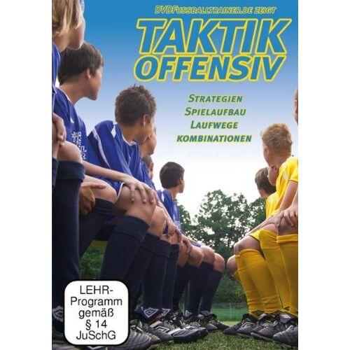 Nepomuk Fischer - DVDFussballtrainer - Taktik Offensiv Vol.1 / Neue Fußballübungen im Fußballtraining (DVD) - Preis vom 25.10.2021 04:56:05 h