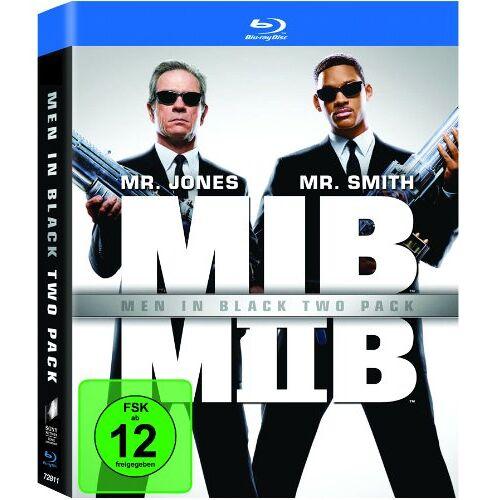 Barry Sonnenfeld - Men in Black 1+2 [Blu-ray] - Preis vom 03.05.2021 04:57:00 h