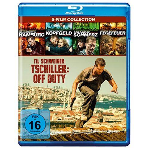 Til Schweiger - Tatort Box-Set: Tatort mit Til Schweiger (1-4) + Tschiller: Off Duty [Blu-ray] - Preis vom 09.06.2021 04:47:15 h