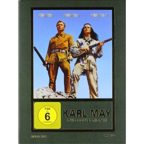 Harald Reinl - Karl May DVD-Collection 3 (Winnetou I / Winnetou II / Winnetou III) (3 DVDs) [Limited Edition] - Preis vom 17.06.2021 04:48:08 h