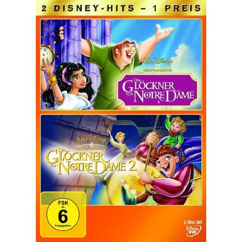 Gary Trousdale - Der Glöckner von Notre Dame / Der Glöckner von Notre Dame 2 [2 DVDs] - Preis vom 19.06.2021 04:48:54 h