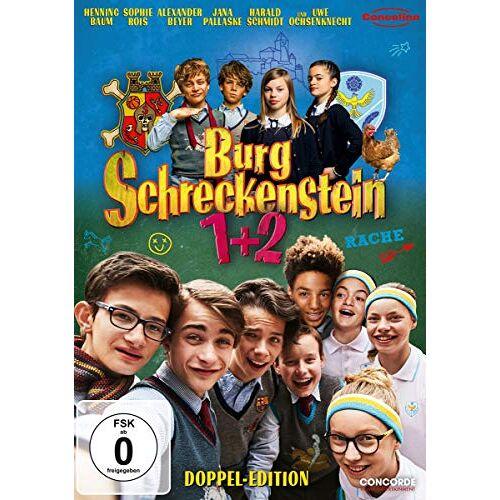 Ralf Huettner - Burg Schreckenstein / Burg Schreckenstein 2 [2 DVDs] - Preis vom 16.06.2021 04:47:02 h