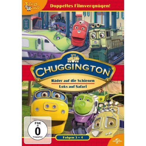 Sarah Ball - Chuggington 03 - Räder auf die Schienen / Chuggington 04 - Loks auf Safari [2 DVDs] - Preis vom 19.06.2021 04:48:54 h