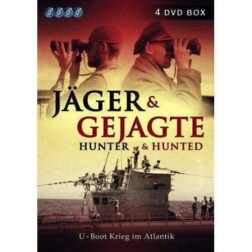 Kriegsmarine - Jäger und Gejagte - U-Boot Krieg im Atlantik ( 4 DVD BOX ) - Preis vom 15.06.2021 04:47:52 h