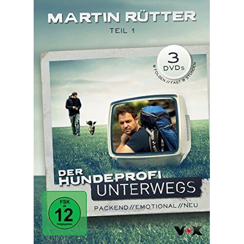 Martin Rütter - Der Hundeprofi unterwegs, Teil 1 [3 DVDs] - Preis vom 15.10.2021 04:56:39 h