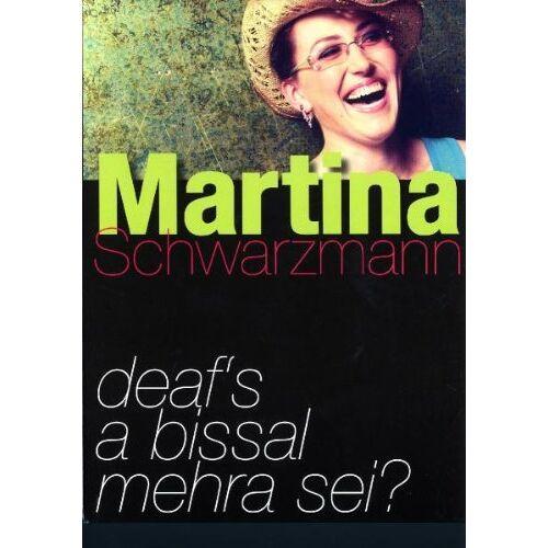 Martina Schwarzmann - Deaf's a bissal mehra sei - Preis vom 13.06.2021 04:45:58 h