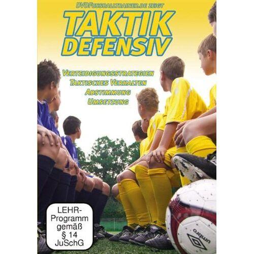 Nepomuk Fischer - DVDFussballtrainer - Taktik Defensiv Vol.1 / Neue Fußballübungen im Fußballtraining (DVD) - Preis vom 25.10.2021 04:56:05 h
