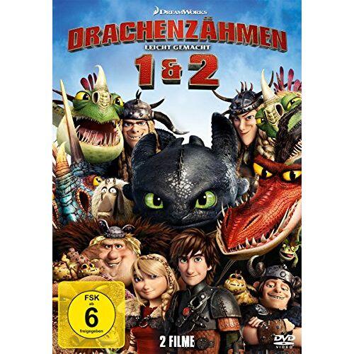 - Drachenzähmen leicht gemacht 1&2 [2 DVDs] - Preis vom 28.07.2021 04:47:08 h