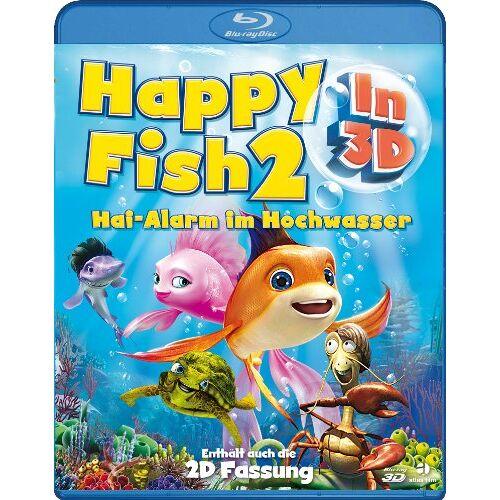 Mark Dippe - Happy Fish 2 - Hai-Alarm im Hochwasser (3D Blu-ray) - Preis vom 20.06.2021 04:47:58 h