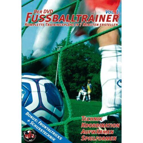 Nepomuk V. Fischer - Der DVD Fussballtrainer Vol.1 / Neue Fußballübungen im Fußballtraining (DVD) - Preis vom 25.10.2021 04:56:05 h