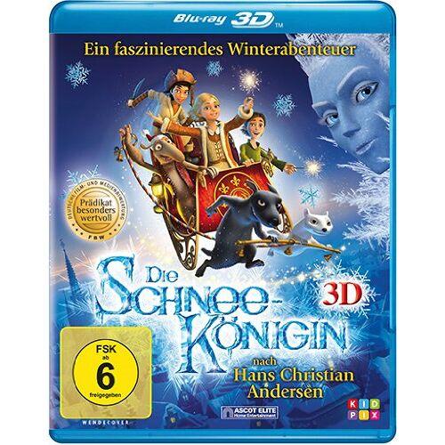 Vladlen Barbe - Die Schneekönigin [3D Blu-ray] - Preis vom 12.06.2021 04:48:00 h