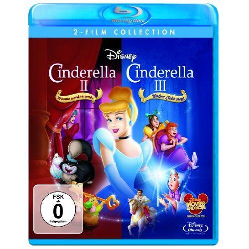 - Cinderella II: Träume werden wahr / Cinderella III: Wahre Liebe siegt [Blu-ray] - Preis vom 16.05.2021 04:43:40 h
