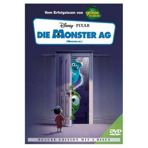 Peter Docter - Die Monster AG - Deluxe Edition (2 DVDs) [Deluxe Edition] - Preis vom 26.07.2021 04:48:14 h