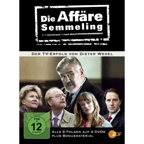 Dr. Dieter Wedel - Die Affäre Semmeling [4 DVDs] - Preis vom 16.05.2021 04:43:40 h