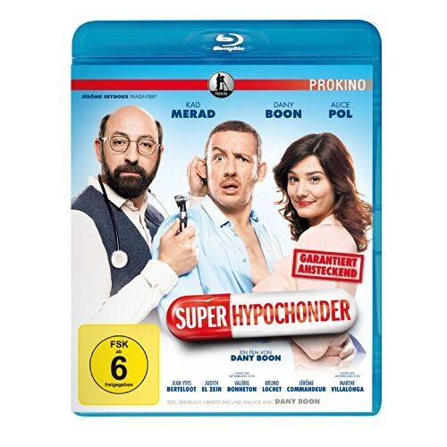 Dany Boon - Super-Hypochonder [Blu-ray] - Preis vom 03.05.2021 04:57:00 h