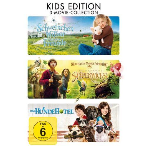Gary Winick - Schweinchen Wilbur und seine Freunde / Die Geeimnisse der Spiderwicks / Das Hundehotel [3 DVDs] - Preis vom 13.06.2021 04:45:58 h