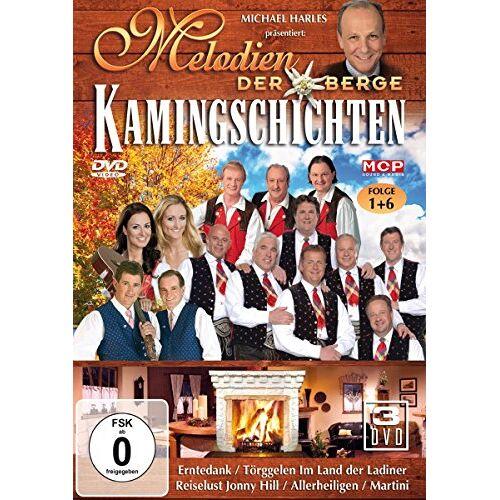 - Melodien der Berge-Kamingeschichten [3 DVDs] - Preis vom 28.09.2021 05:01:49 h