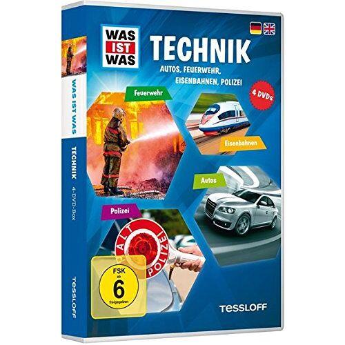 - Was ist was: Technik - Autos, Feuerwehr, Eisenbahnen, Polizei [4 DVDs] - Preis vom 25.07.2021 04:48:18 h