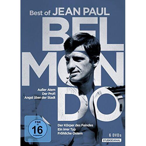 Jean-Paul Belmondo - Belmondo - Best of Jean-Paul Belmondo [6 DVDs] - Preis vom 22.06.2021 04:48:15 h