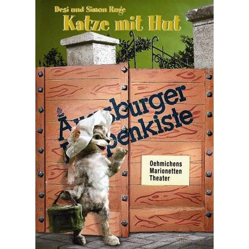 - Augsburger Puppenkiste - Katze mit Hut - Preis vom 16.06.2021 04:47:02 h