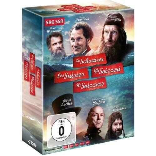- Die Schweizer [4 DVDs] - Preis vom 31.07.2021 04:48:47 h