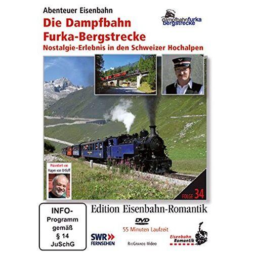 - Edition Eisenbahn-Romantik: Die Dampfbahn Furka-Bergstrecke - Preis vom 23.09.2021 04:56:55 h