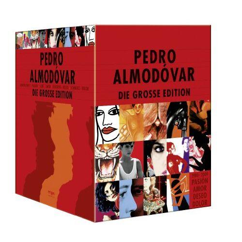 Pedro Almodóvar - Pedro Almodóvar: Die große Edition [16 DVDs] - Preis vom 05.09.2020 04:49:05 h