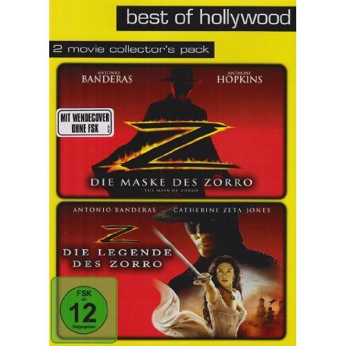 Martin Campbell - Die Maske des Zorro / Die Legende des Zorro - Best of Hollywood/2 Movie Collector's Pack [2 DVDs] - Preis vom 03.05.2021 04:57:00 h