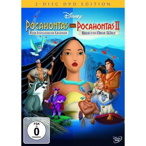 Mike Gabriel - Pocahontas / Pocahontas 2 - Reise in eine neue Welt [2 DVDs] - Preis vom 20.10.2020 04:55:35 h