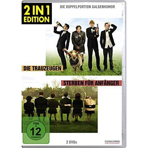 Frank Oz - Die Trauzeugen / Sterben für Anfänger (2 in 1 Edition, 2 Discs) - Preis vom 26.02.2020 06:02:12 h
