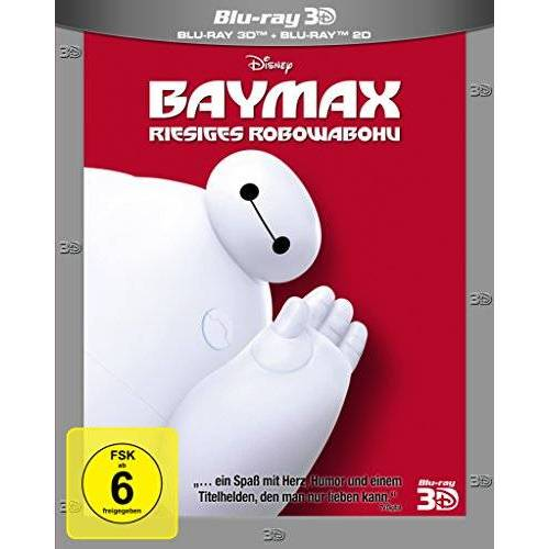 Don Hall - Baymax - Riesiges Robowabohu 3D+2D [3D Blu-ray] - Preis vom 20.10.2020 04:55:35 h